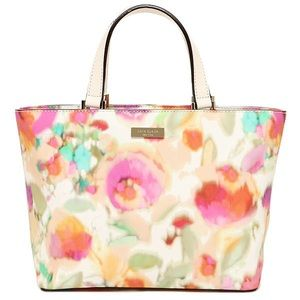 Kate Spade Juno Tote bag in Giverny Floral.